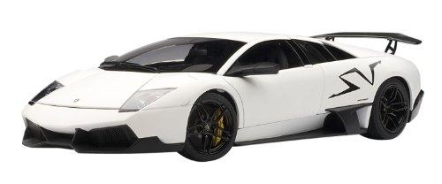 AUTOart 1/18 Lamborghini Murcielago LP670-4 Super Veloce (Matt White) (japan import)