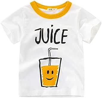 Kids Short Sleeve Graphic T-Shirt White