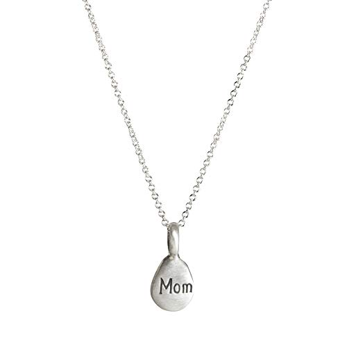 - Dogeared Make A Wish Mom Word Pebbles Necklace, Sterling Silver 16