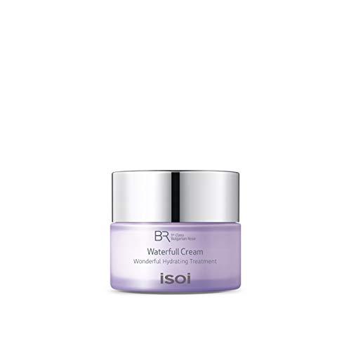 isoi Bulgarian Rose Waterfull Cream 20ml- Natural Facial Moisturizer, For Sensitive and Dry Skin, Long Lasting Hydration, Natural Moisturizer, Top Scoring EWG Verified