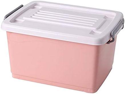 LYZ Caja De Almacenamiento Extra Grande De Plástico, Grandes Cajas De Plástico con Tapa Perfecta for El Hogar, Oficina Garaje 20L-170L (Color : D, tamaño : 34 * 24 * 19): Amazon.es: Hogar