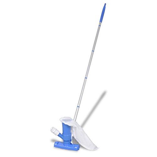 Pond Mini Vacuum - Festnight Pool Spa Pond Mini Jet Vac Vacuum Cleaner w/ brushes and Bag 3' 11