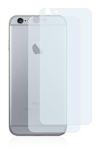 2x BROTECT Matte Pellicola Protettiva Opaca per Apple iPhone 6 Posteriore (intera superficie) Proteggi Schermo Opaco, Antiriflesso