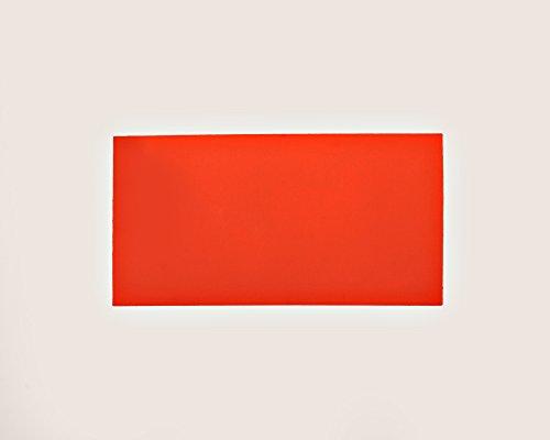 - Orange Fluorescent Neon Dry Erase Magnet Shelf Labels 1
