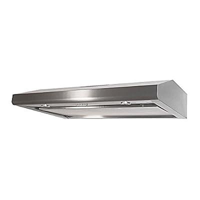 KOBE Range Hoods CHX3030PDS-SL Brillia Under Cabinet Range Hood 450 CFM