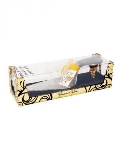 Gormet Glam' Ultra Glamorous Gold Heel Shoe Cake Slice Server