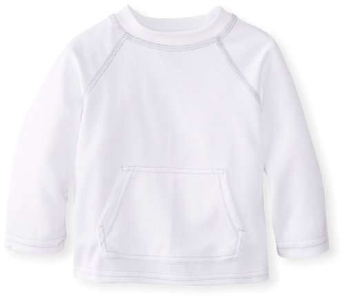 i play. Toddler Breatheasy Sun Protection Shirt, White, 3T-4T