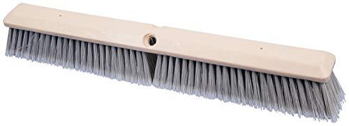 PFERD 89231 24'' Fine Sweep Floor Brush, Silver Plastic Fill 3'' Trim (12pk)