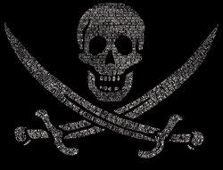 Canotta Da Pirata Womens Word Art Realizzata Da Una Leggendaria Canzone Dei Pirati