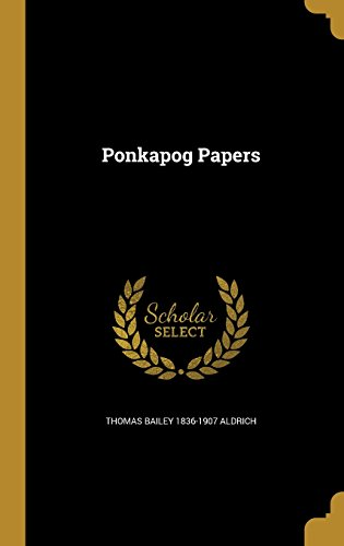 book cover of Ponkapog Papers