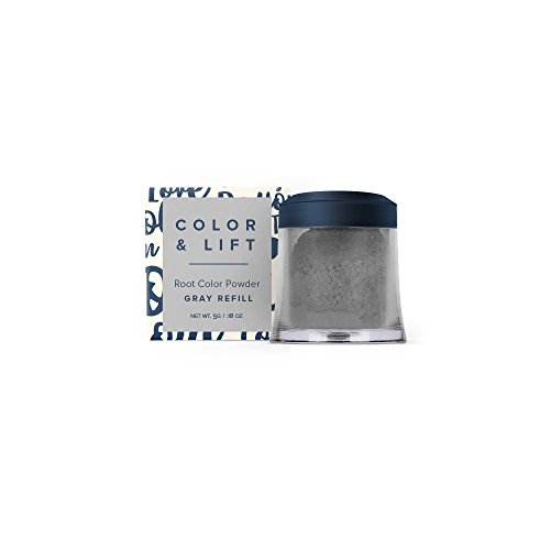 (Color & Lift with Thickening Fibers Refill - Gray)