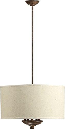 Quorum 8166-5-21 Telluride Pendant, 5-Light, 300 Total Watts, Early American