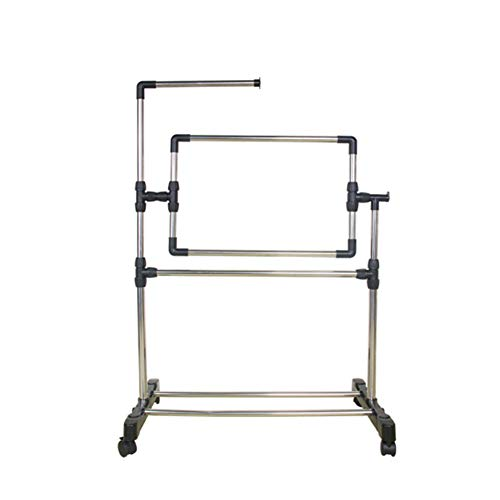 Frjjthchy Quilt Frame with Stand Detachable Quilting Hoop Frame for Indoor and Outdoor