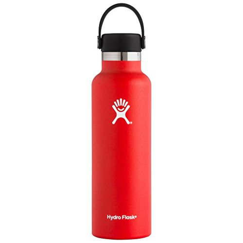 Hydro Flask Double Wall Vacuum Insulated Stainless Steel Leak Proof Sports Water Bottle, Standard Mouth with BPA Free Flex Cap from Hydro Flask