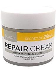 [RAMOSU] 28 Days Soothing Facial Repair Cream | Moisturizing, Anti Wrinkle, Whitening Good for Sensitive Skin 1.7oz