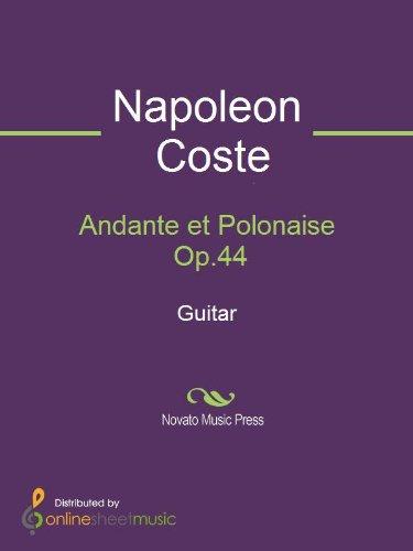 Music Andante Book Guitar - Andante et Polonaise Op.44 - Guitar
