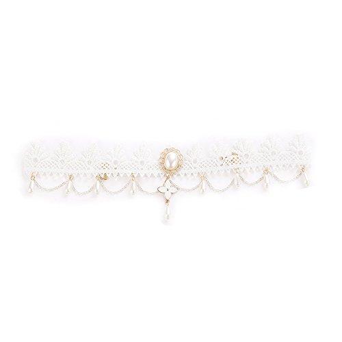 Head Chain Tassel Hair Chain Jewelry Headpiece Silver Wedding Hair Accessories for WomenWomen Lace Head Chain Jewelry Piece Hair Band Head -