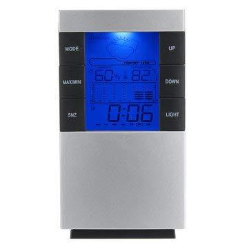 Macerdonia Digital Alarm Temperature Clock Projection Thermometer