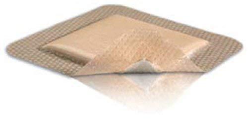 Mepilex Border Self-Adherent Foam Dressing 4'' x 4'', 5/Bx