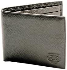 Stealth Mode Leather Bifold Wallet For Men - RFID Wallet With 8 Card Slots and Divided Billfold