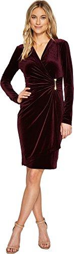 Mock Wrap Dress - 4