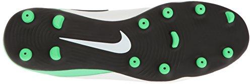 Nike Herren Tiempo Rio III FG Fußballschuhe Weiß (White/Black-Electro Green)