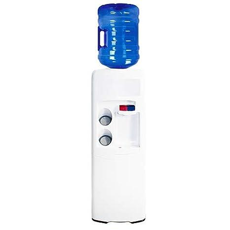 Dispensador Agua, Fuente EMAX de botellón, Blanca. Agua fría y Caliente. Mejor