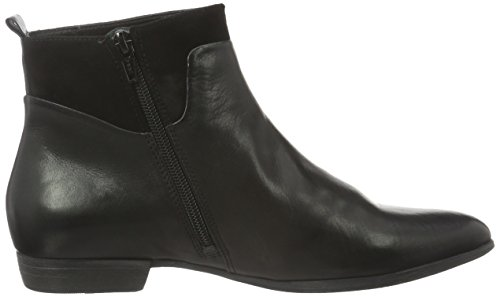 Schwarz 09 sz Think Bussi Femmes Pense kombi Women's Bottes Boots 09 Black Courtes Kombi Short Schwarz Bussi sz Noires v0Ovq