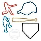 Silly Bandz Baseball Shapes - 24 Pack