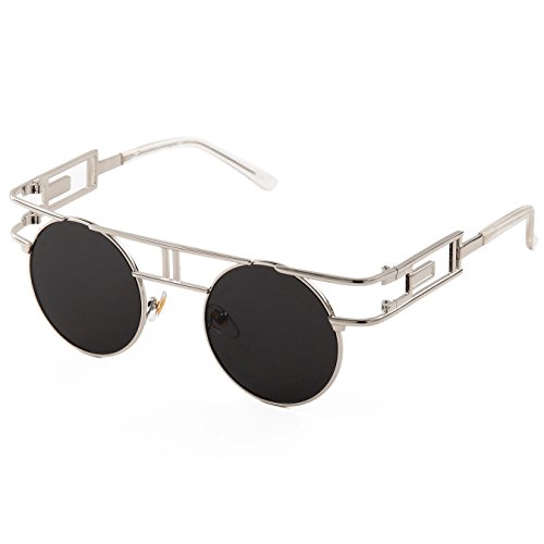 Sunny&Love Women Vintage Sunglasses Metal Frame - Eyewear Sunnies
