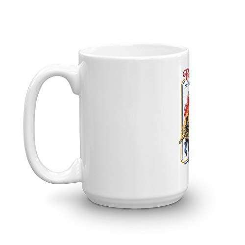 Pyrokinesis for Beginners T-Shirt Mug 15 Oz White -