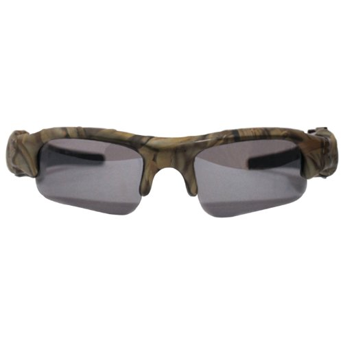 POV ACG22-CA Standard Definition Action Camera Eyewear and Webcam (Camo) (Pinhole Camera Cmos Kit)
