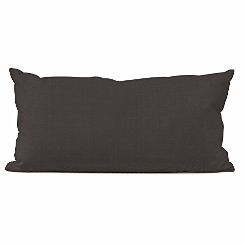 Howard Elliott Q4-460 Kidney Patio Pillow, Seascape Charcoal