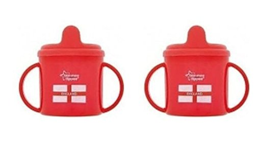 Twin Handled (TOMMEE TIPPEE WORLD CUP FOOTBALL TWIN HANDLED CUP BPA FREE 4M+ [Baby Product])
