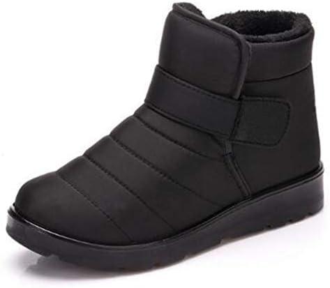 ファッション雪のブーツメンズ冬プラスベルベットのアンクルブーツ作業靴滑り止め耐摩耗暖かいアウトドアレジャーの快適さ (色 : 黒, サイズ : 27.5 CM)