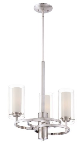 Philips Forecast FK0001836 Hula Chandelier, Satin Nickel