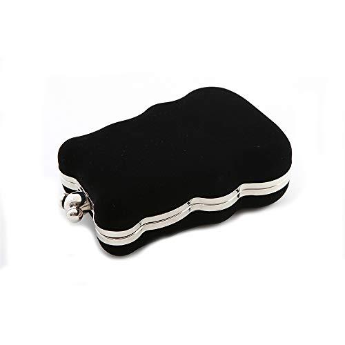 moyen Noir Noir Flada Pochette Noir femme pour qwOXBzF