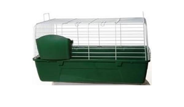 Mammalia 80 Jaula para Conejos 80 cm: Amazon.es: Productos para ...