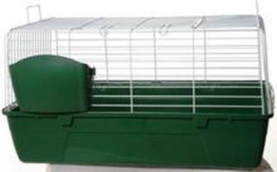 Mammalia 100 Jaula para Conejos 100 cm: Amazon.es: Productos para ...