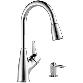 Peerless Pull-Down Kitchen Faucet, Chrome - - Amazon.com