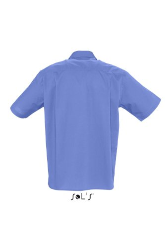 SOLS Kurzarm Hemd Berkeley Herren Hemd Übergröße bis 4XL NEU 4XL,Cobalt Blue