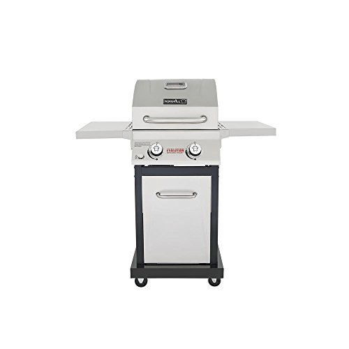 Nexgrill 720-0864M 2-Burner Gas Grill in Stainless Steel w/ Infrared Technology