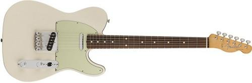 Fender Classic Series 60's Telecaster Electric Guitar - Pau Ferro Fingerboard - Olympic White Fender Telecaster Humbucker