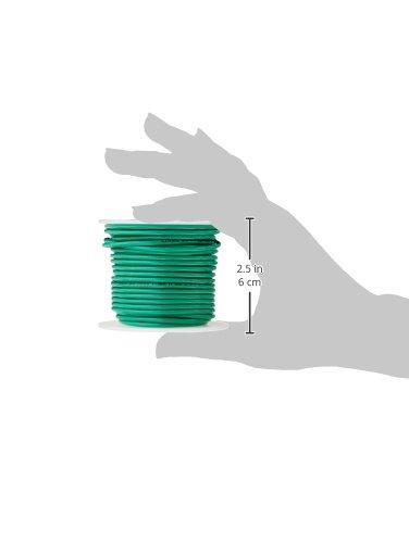 600V Remington Industries 14SLDGRETHHN50 14 AWG Gauge Solid THHN Building Wire 50 Length Green 50/' Length