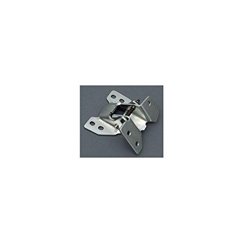 Eckler's Premier Quality Products 75-258919 Firebird Door Hinge, Upper, Left, (Upper Firebird Door)