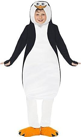 niños pingüino Traje Con Licencia Oficial MADAGASCAR disfraz ...