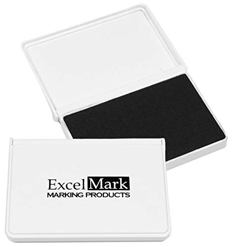 (ExcelMark Ink Pad for Rubber Stamps 2-1/8