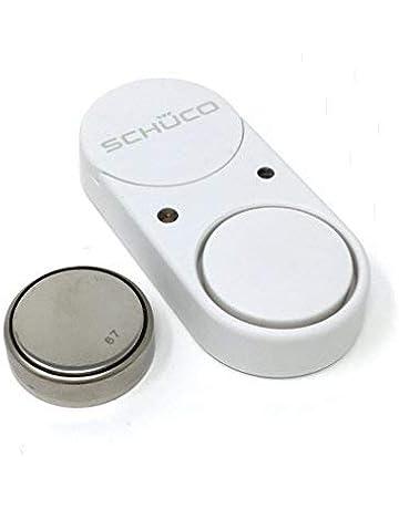 schüco Sonido Guard Ventana de discos de rotura de cristal (Color Blanco)