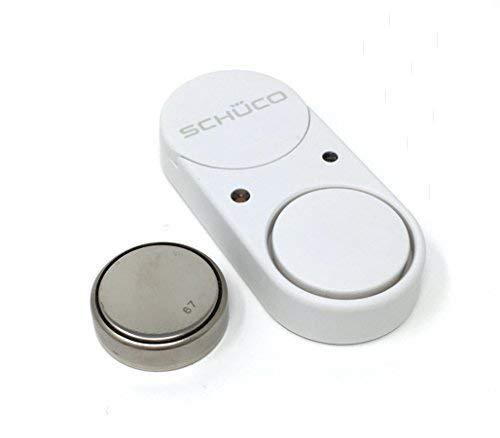 schüco Sonido Guard Ventana de discos de rotura de cristal (Color Blanco): Amazon.es: Bricolaje y herramientas