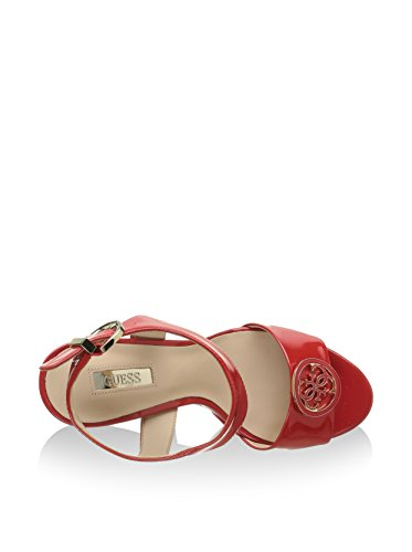 Scarpe Sandali Donna Guess Mod. Passy FLPS21PAF03 Col. Rosso.